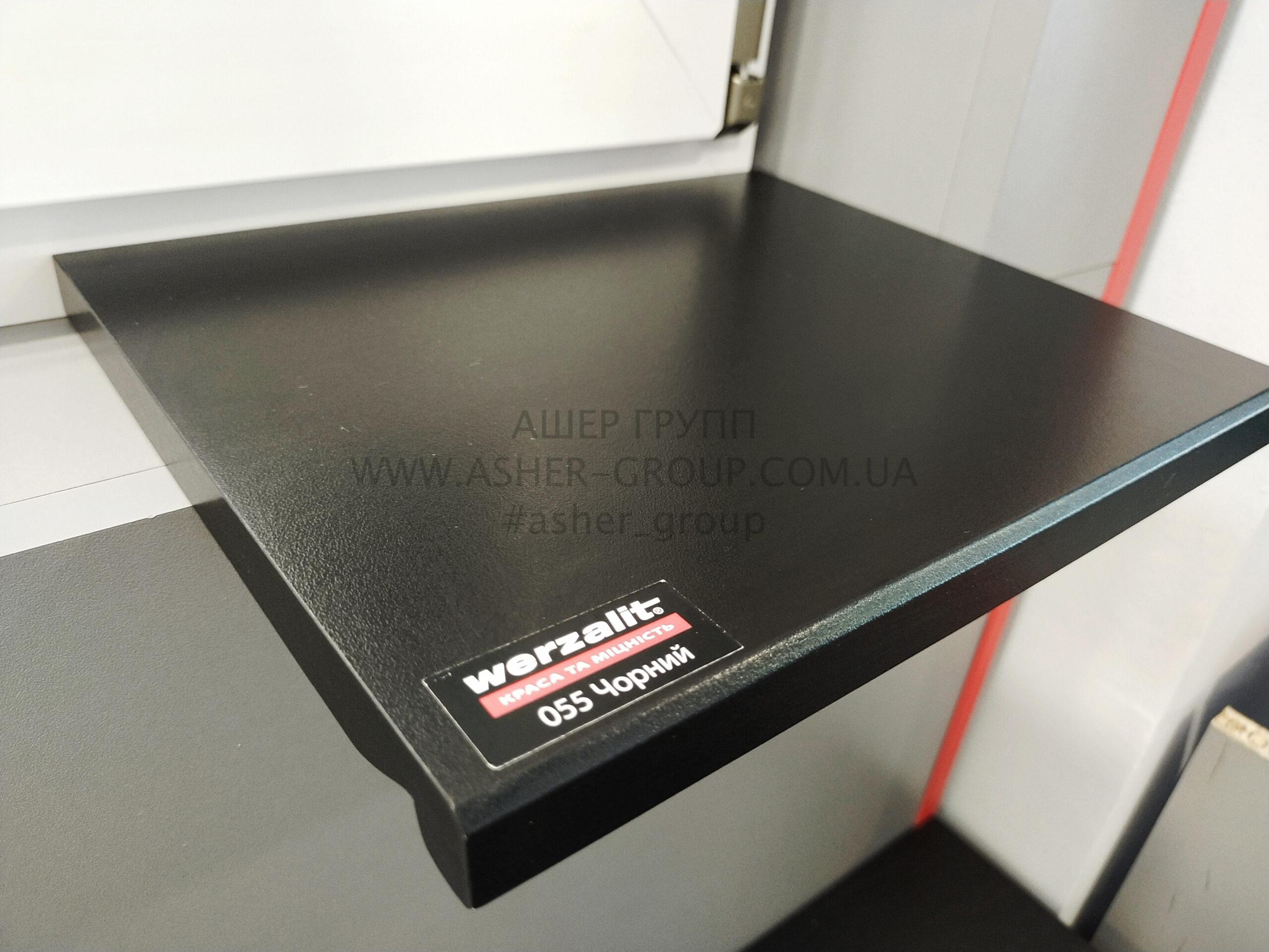 Werzalit Compact Черный 055